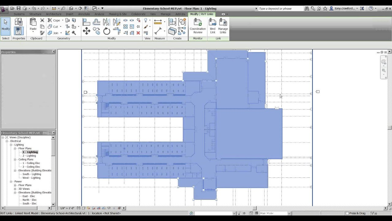 Cad 1 presents the revit copy monitor process youtube for Copy cad