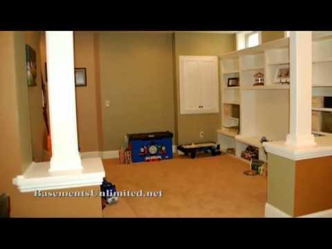 how to hide utilities basement finishing dublin ohio youtube