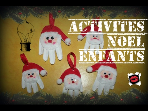 35 activit s de noel pour enfants youtube. Black Bedroom Furniture Sets. Home Design Ideas