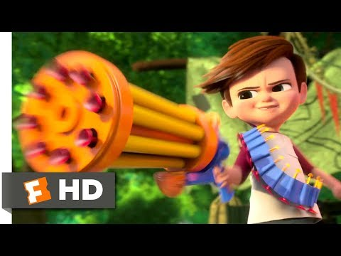 The Boss Baby (2017) - Tim vs. Baby Gang Scene (3/10) | Movieclips