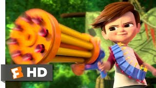 Download The Boss Baby (2017) - Tim vs. Baby Gang Scene (3/10)   Movieclips