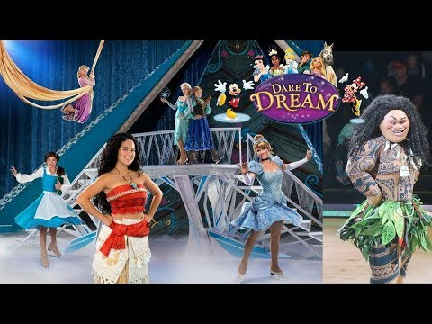 Disney on Ice Dare to Dream Princess Party Brooke and Azlynn Show
