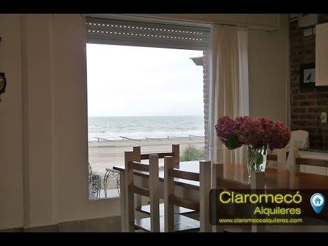 Playas Serenas Casas de Mar -Las Golondrinas - Claromeco Alquileres
