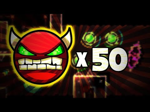 BEATING 50 DEMONS IN ONE DAY ~ Rage Compilation