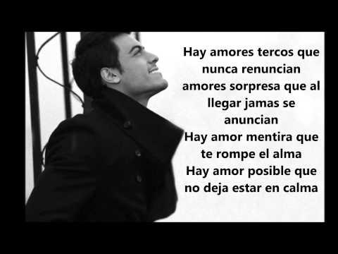 Carlos Rivera Por Ti letra