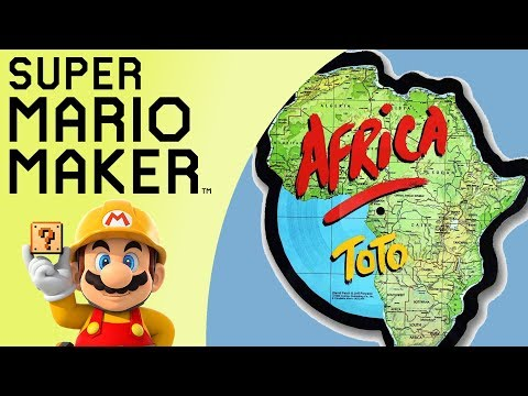 Musical One Screen Puzzle - ToTo - Africa | Super Mario Maker