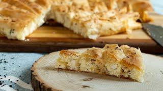 Tiropita Strifti Greek Cheese Phyllo Spiral For The Holidays Youtube