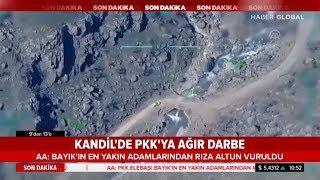 Kandil de Terör Örgütü PKK ya Ağır Darbe