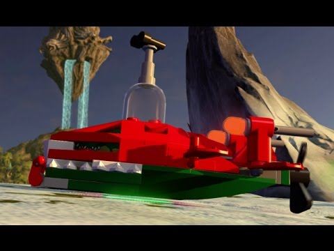 Lego dimensions eris eagle skyblazer fully upgraded