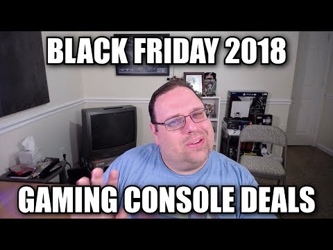 Black Friday 2018 Gaming Console Deals
