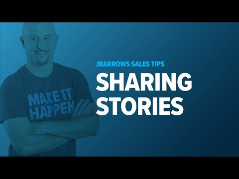 Share Stories from Case Studies - Sales Training Tips