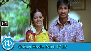 Ontari Movie Part 4/13 - Gopichand, Bhavana