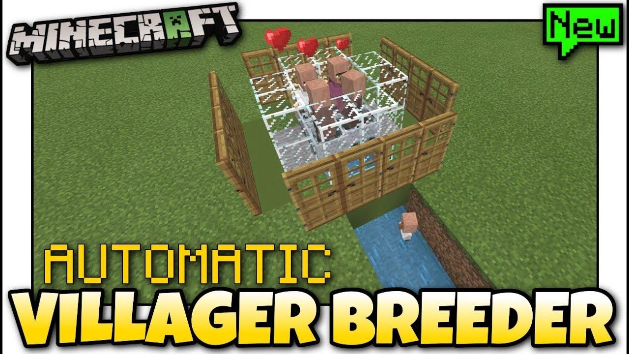 Minecraft - AUTOMATIC VILLAGER FARM [ Tutorial ] MCPE / Xbox / Bedrock