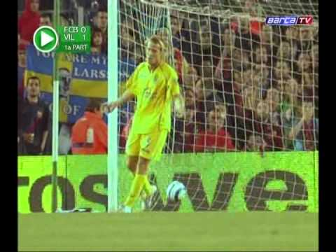 Diego Forlan in Villarreal - hat-trick against Barca and first Pichichi, 2005