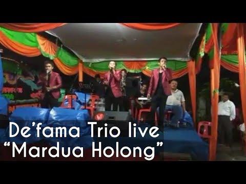 De'fama Trio - Mardua Holong (Live)