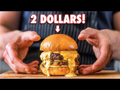 2 Dollar Homemade Burger But Cheaper