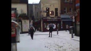 Snowy Dublin 2010 by Kre8