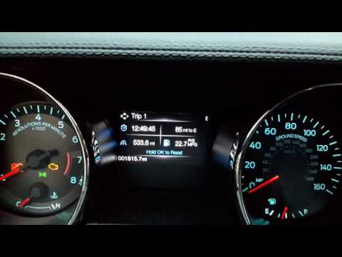 2016 Mustang GT premium real world highway gas milage