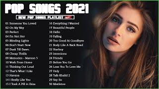 Greatest Pop Hits 2021   Maroon 5, Rihanna, Dua Lipa, Ed Sheeran, Ariana Grande, Bruno Mars