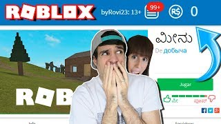 WE ROB ALL ROBUX IN THIS ROBLOX GAME !