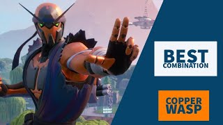 Best Combos | Copper Wasp | Fortnite Skin Review