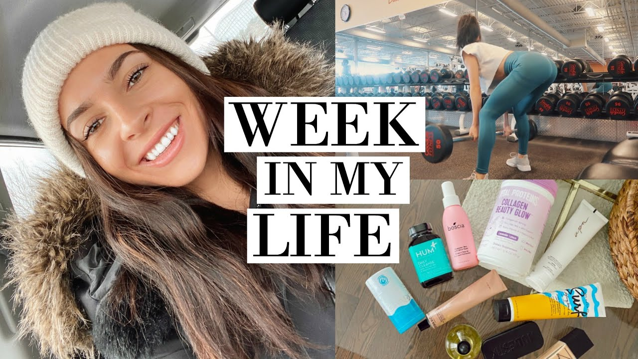 WEEKLY VLOG | GYM WORKOUT & MASSIVE BEAUTY/LIFESTYLE HAUL