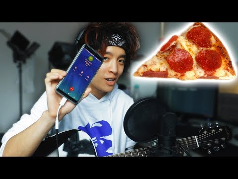 Singing a PIZZA ORDER | Gong Bao