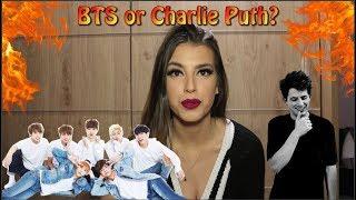 BTS x CHARLIE PUTH FULL MEGA 2018 PERFORMANCE REACTION
