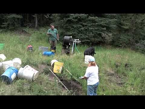 Montana Sapphire Mining 2012