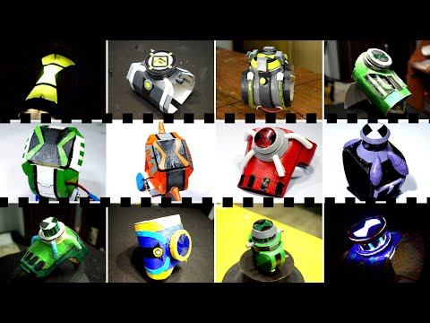 Ben 10 - All  Best Omnitrix | From Paper | Diy Tutorial