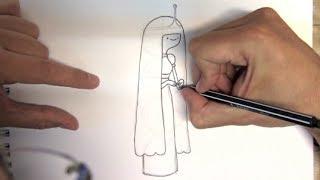 Desenho da Princesa Jujuba do Hora de Aventura - Como Desenhar Bem