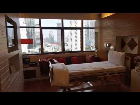Review: ห้องพักผู้ป่วย รพ. บํารุงราษฎร์ | Bumrungrad Hospital's Patient Private Room