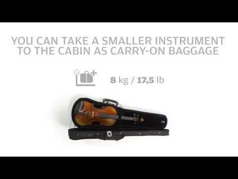 Baggage on Finnair flights: Musical instruments