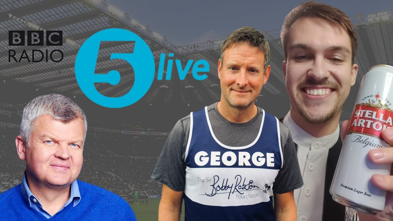 Matt & George Caulkin speak to 5 Live