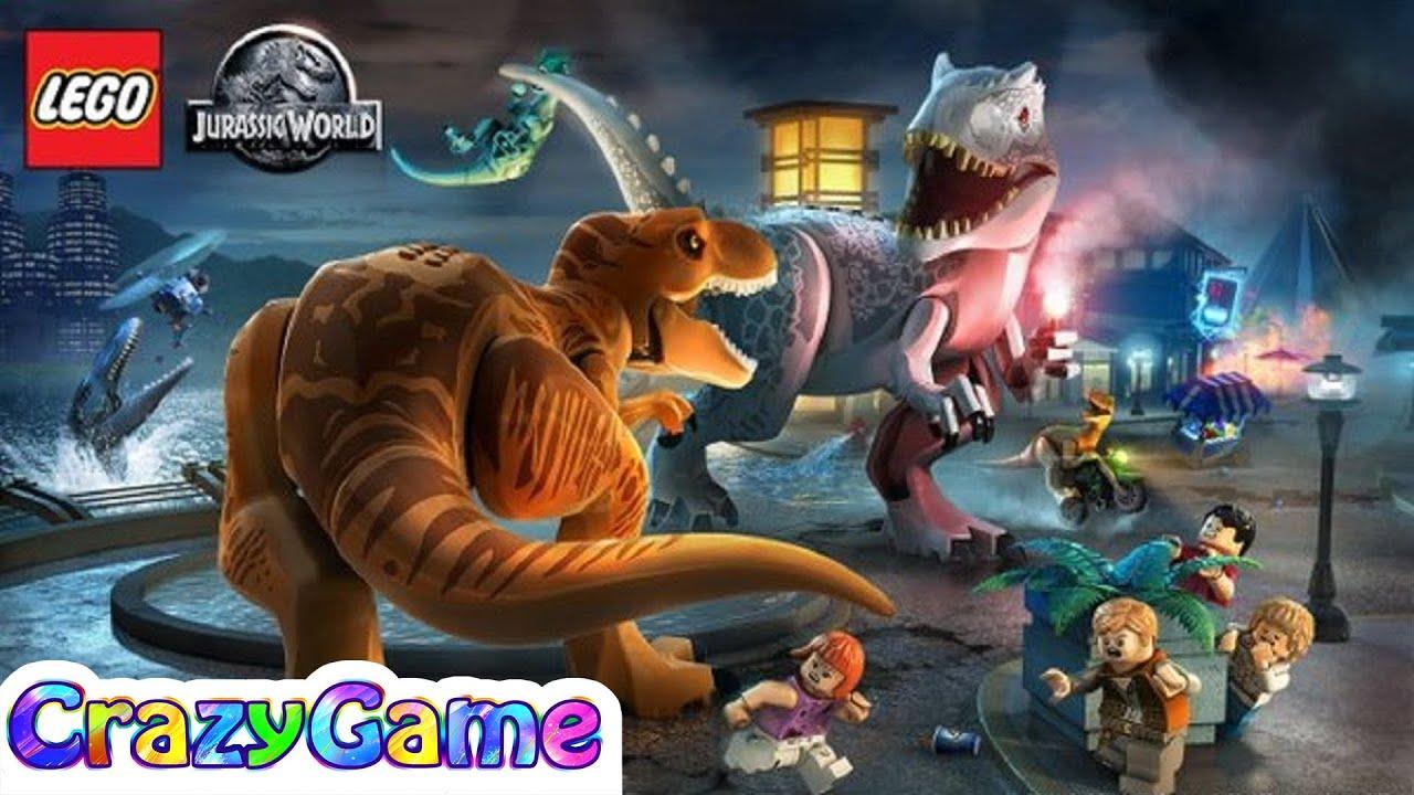 Lego Jurassic World Conplete Game Walkthrough 5 Hour Best Lego Game For Children Youtube