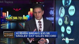 Alibaba Breaks $30.5 Billion Singles' Day Sales Record