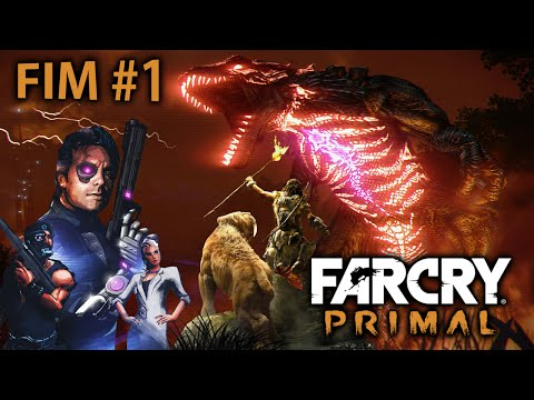 FAR CRY PRIMAL - Easter Egg do Blood Dragon [ Playstation 4 - O Fim É Para Os Fracos #1 ]