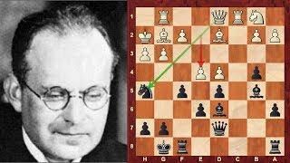Amazing Game: Aron Nimzowitsch