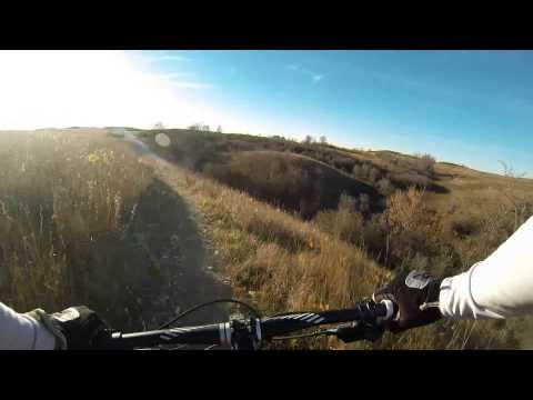 Harmon Lake Mountain Bike Trail, Mandan, ND