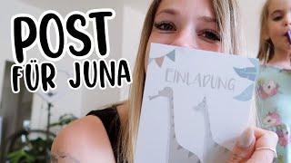 Juna hat Post bekommen + neue Buchplanung für Kinder