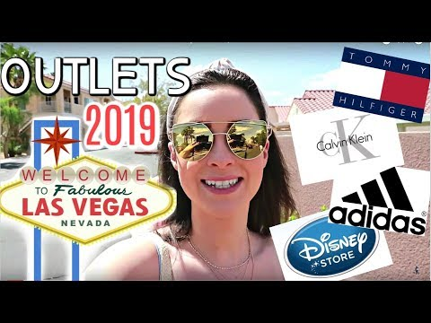 LAS VEGAS PREMIUM OUTLETS 2019 !!!! Come Shop With Me |