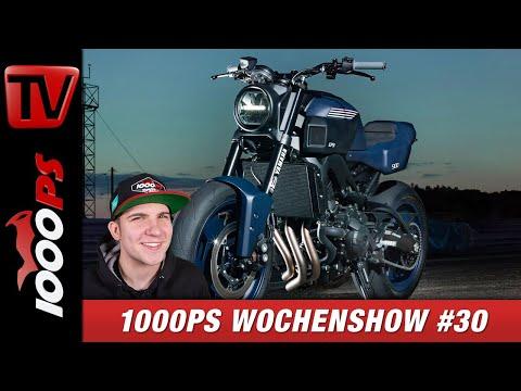 Yamaha XSR900 Umbau für zuhause, V4S Nicky Hayden Edition und vieles Mehr - 1000PS Wocheshow #30