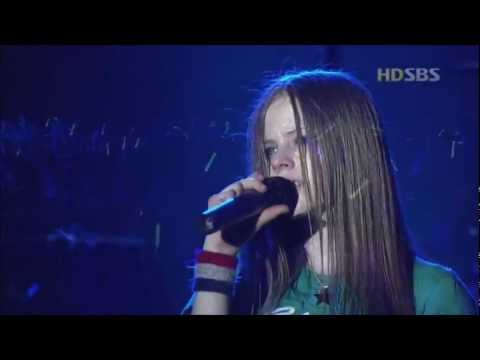 Avril Lavigne - I'm With You - Live in Seoul Korea 2003 [HD]