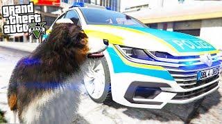 POLIZEIHUND im Einsatz! - GTA 5 Polizei Mod - Deutsch - LSPDFR