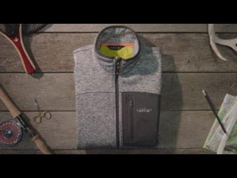 ORVIS – Windproof Sweater Fleece Fly Fishing Vest