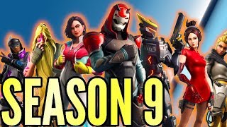 FORTNITE SEASON 9 Battle Pass, New Map & Skins FORTNITE BATTLE ROYALE ENGLISH