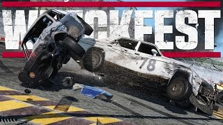 Next Car Game: Wreckfest Gameplay - Game Update - New Engine, New Map, New Car!