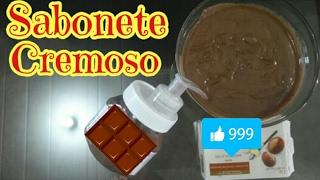 SABONETE CREMOSO DE CHOCOLATE NO POTINHO DE NUTELLA