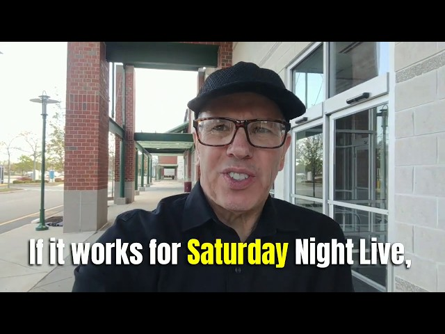 If It Works for Saturday Night Live, It'll Work for You