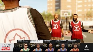 NBA Live 16 Pro-Am Summer Circuit Gameplay - FINAL Game at Rucker! NBA Stars Defend Their Court